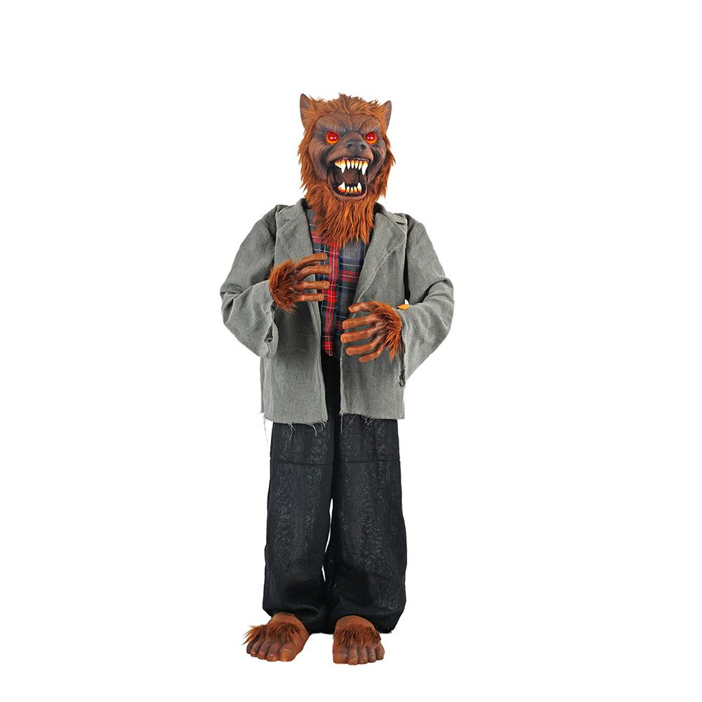 Home Accents Halloween 36-inch LED-Lit Animated Werewolf Halloween Decoration