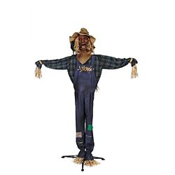Home Accents Halloween 72-inch LED-Lit Animated Scarecrow Halloween Decoration