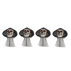 Home Accents Halloween Grim Reaper Pathway Lights (4-Pack)