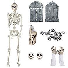 Halloween Cemetary Decoration Kit