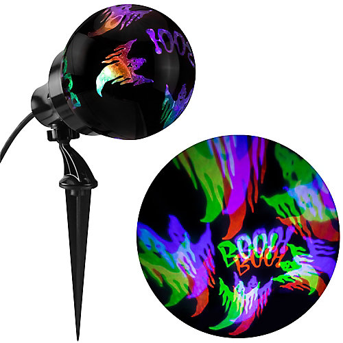 NeonGlo Multi-Colour LED Ghost Halloween Projector