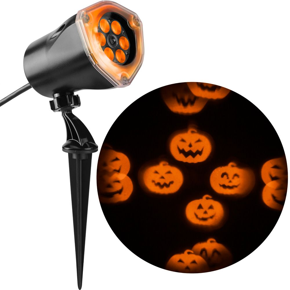 Lightshow Projection Whirl-a-Motion Jack o Lantern