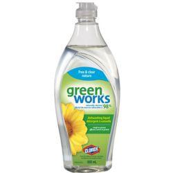GreenWorks Détergent à vaisselle Green Works nature