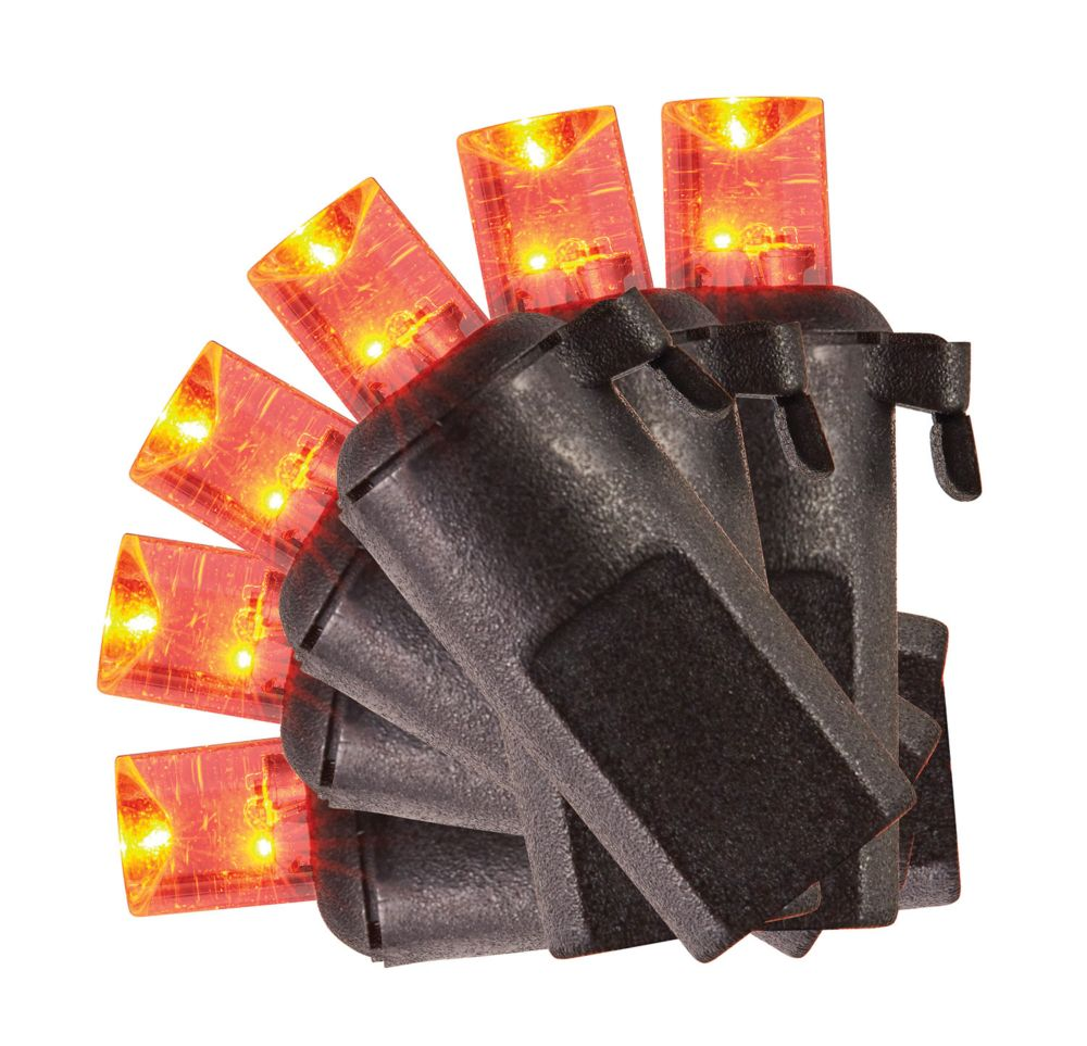 HAL Concave LED Battery Operated Lights with Timer, Assorted (20-Count)
