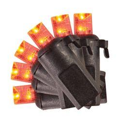 HAL Ampoules concaves à DEL à piles variées avec minuterie, ensemble de 20