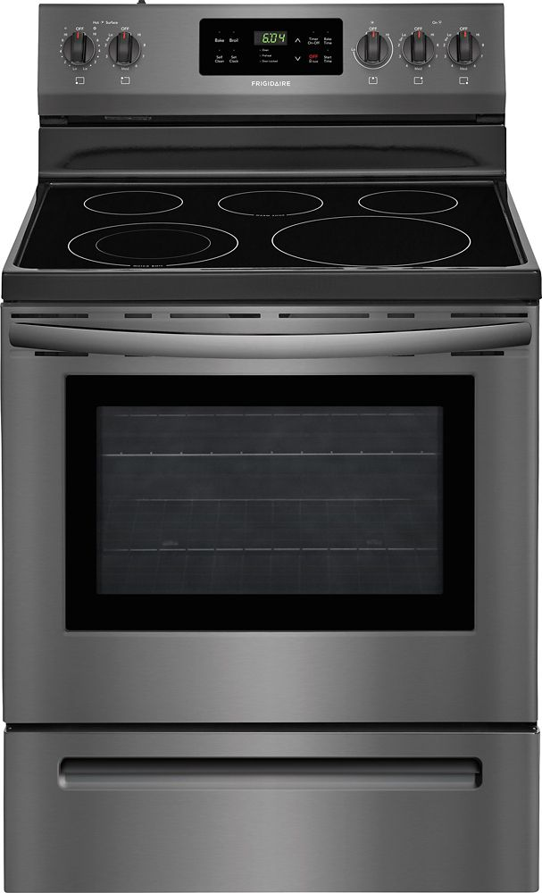 5.3 cu. ft. 30-inch Freestanding Self-Cleaning Electric Range