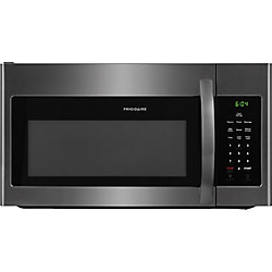 Frigidaire 30-inch W 1.6 cu.ft. Over the Range Microwave in Black Stainless Steel