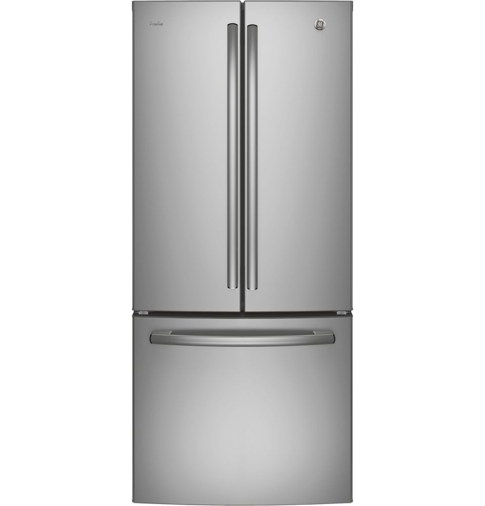 GE Profile 20.8 cu.ft. French Door Bottom-Mount Refrigerator - Stainless Steel