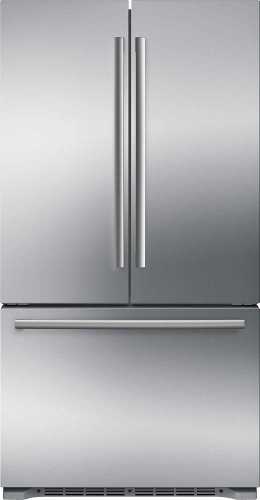 800 Series - 36 inch 20.7 cu.ft. Counter-Depth French Door Bottom Mount