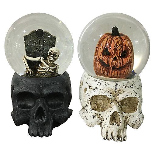 Water Globe Halloween Decoration (Assorted Styles)