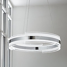 Circular LED Pendant