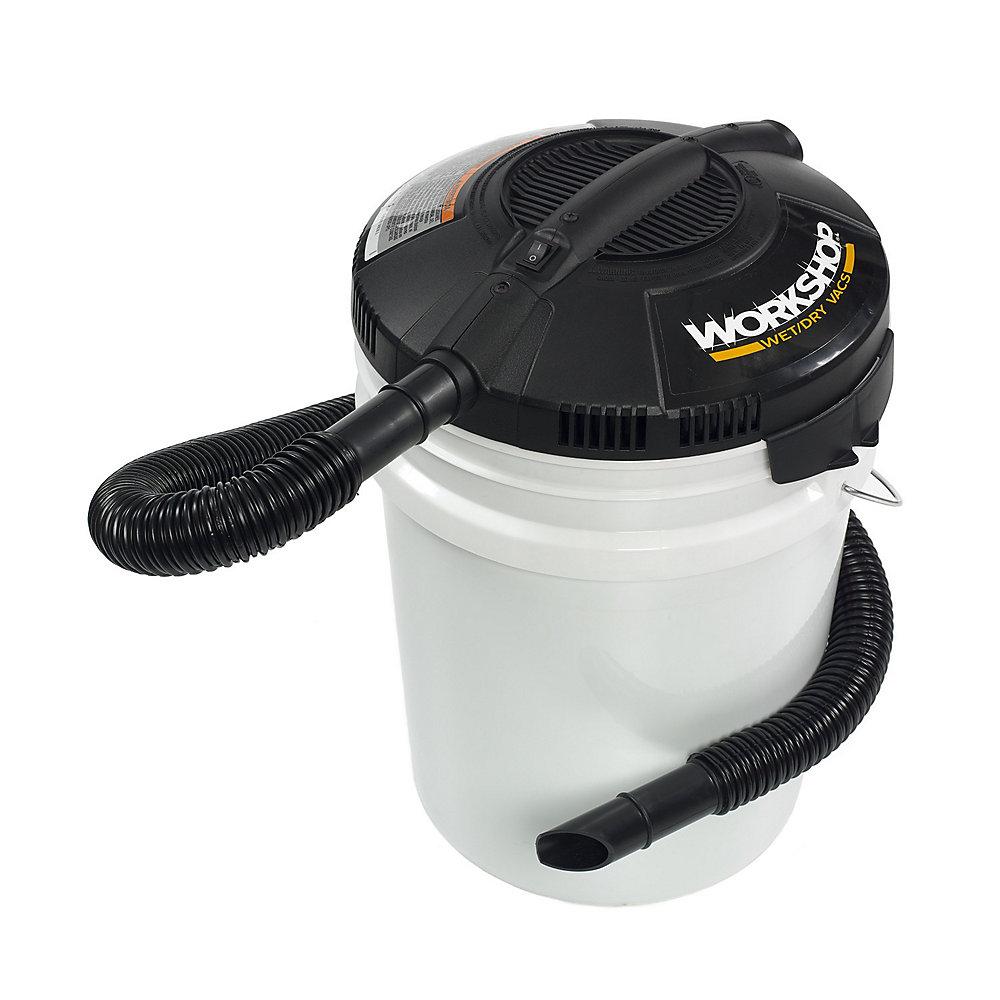 Bloc-Moteur de l'aspirateur sec humide pour le seau de 18,9 L (5 gal.) (seau vendu séparément)