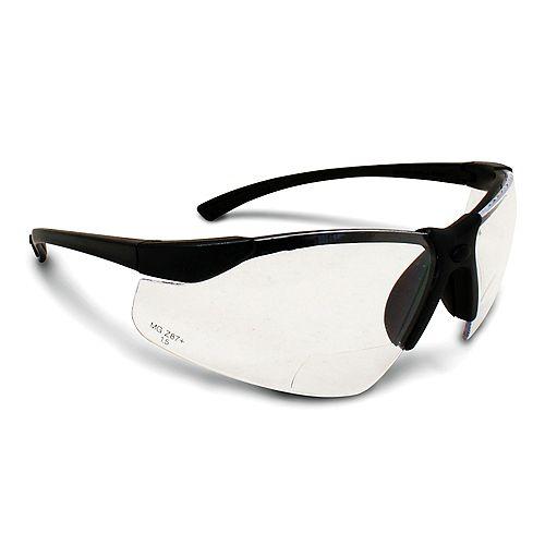 Workhorse Bi-Focal Clear Lens Safety Glasses 1.5