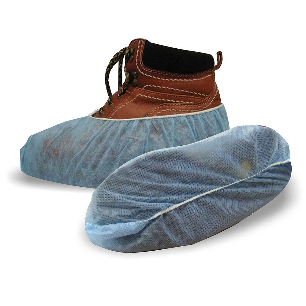 Workhorse Polypropylene Blue Shoe Covers 3 Pack