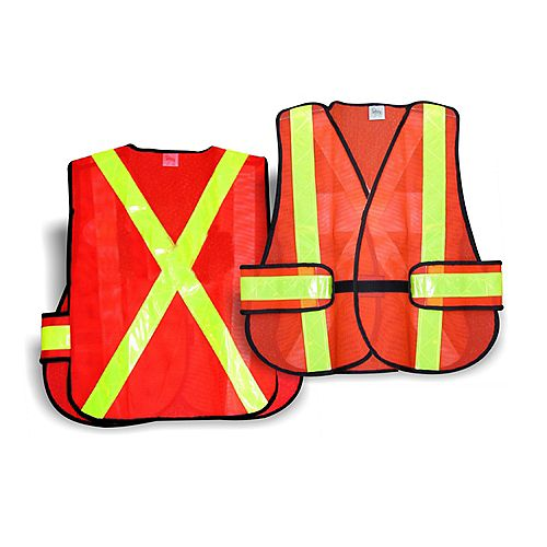 Workhorse 5-Point Tearaway Traffic Vest