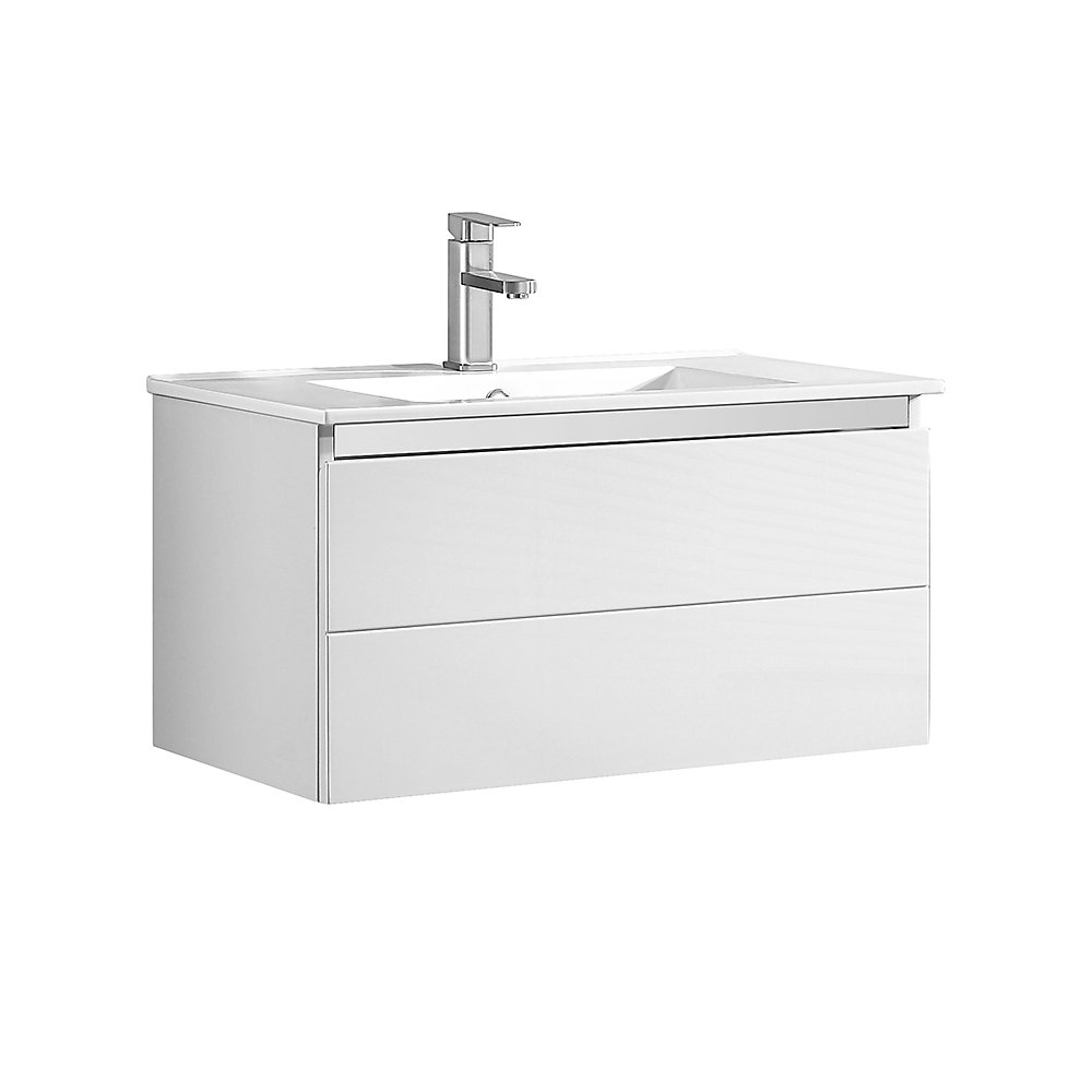 Ove Decors 30-inch x 18.13-inch x 16.56-inch Wall Hung ...