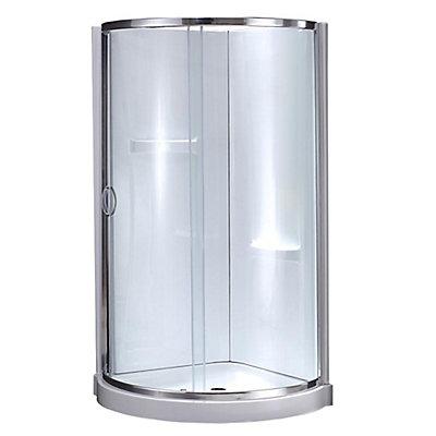 shower corner athena kits rona x kit en l