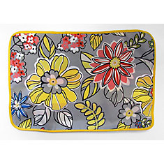 Floral Placemats - Set Of 4 Size: 20 x 13