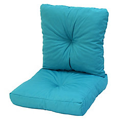 24 x 48 x 5 inch Deep Seat Cushion in Turquoise