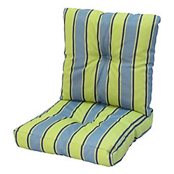 Bozanto Inc 24 x 48 x 5 inch Deep Seat Cushion with Multi colour Stripes