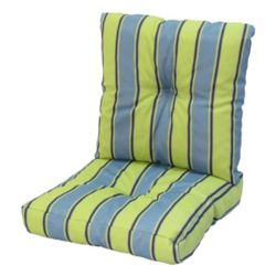 Bozanto Inc 24 x 48 x 5 inch Deep Seat Cushion with Multi colour Stripes