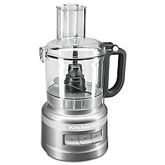 7 Cup Food Processor in  Countour Silver