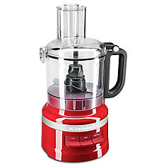 7 Cup Food Processor in Empire Red