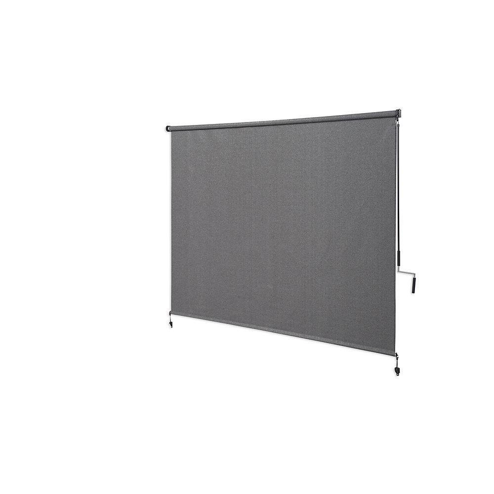 Store extérieur à manivelle, avec une protection de 95% contre les rayons UV (6 pi x6 pi) couleurÉtain