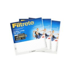 Filtrete 20 inch. x 20 inch. x 20 inch. Healthy Living MPR 1900 Maximum Allergen Filtrete Furnace Filter (3-pack)
