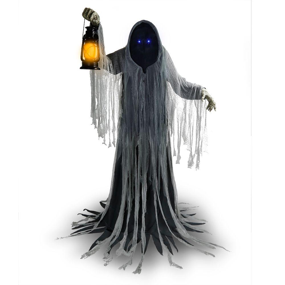 HAL 72-inch Animated Grim Reaper Gatekeeper