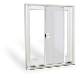 Jeld Wen Windows Doors 5 Ft French Door 1 Lite Gl Low E Argon Lh Inswing 4 9 16 East The Home Depot Canada
