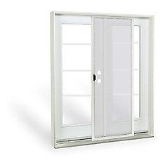 5 ft. French Door,4 Lite door glass, Low E argon, LH, inswing 4 9/16 East