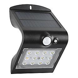 Defiant 1.5W a mené la lumière solaire de mur avec le capteur de PIR