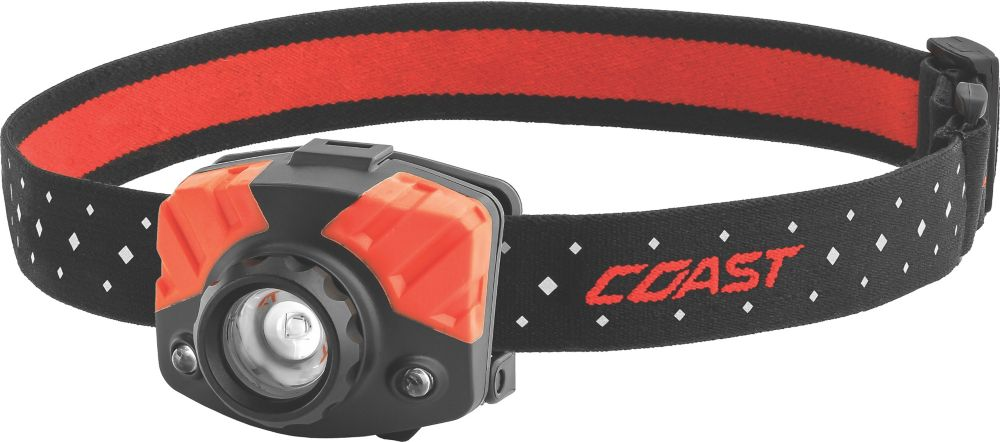 Coast FL75 Dual Color Pure Beam Focusing LED Headlamp