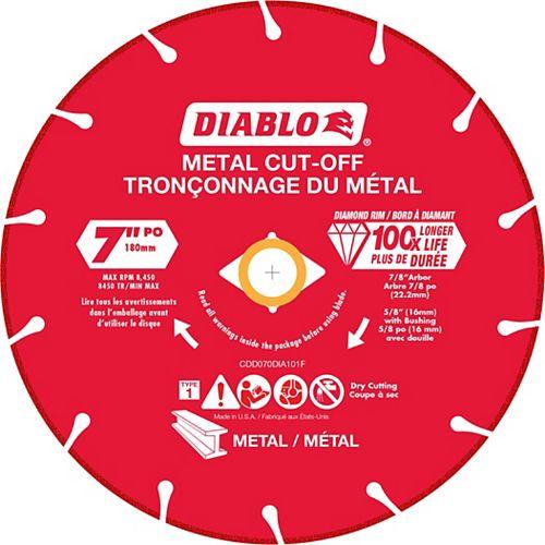 Diablo 7 inch Diamond Metal Cut-Off Wheel
