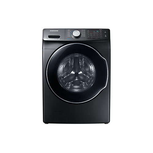 5.2 cu. ft. Smart Front Load Washer with Steam in Black - ENERGY STAR®
