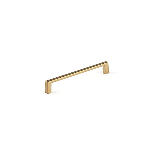 Contemporary Metal Pull 6 inch. (152 mm) CtoC - Champagne Bronze