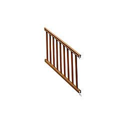 Eon 36 Po. X 6 Pi. Ensemble Traditionnel de main courante d'escalier - Cèdre