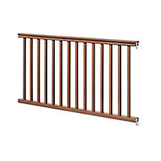 6 Ft. - 42 inch Traditional Handrail Kit - Chestnut