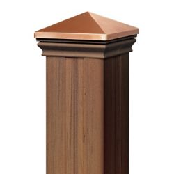 Eon 4 Ft. - Post Sleeve Kit  (with matchIng cap & base collar) - Chestnut