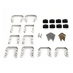 Stair Railing Cut Kit - White
