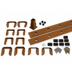 Trex 6 pi. - Ensemble d'accessoires de Rampe pour Balustres Carrés - Escalier - Tree House