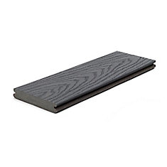 12 Ft. - Select Composite Capped Grooved Decking - Winchester Grey