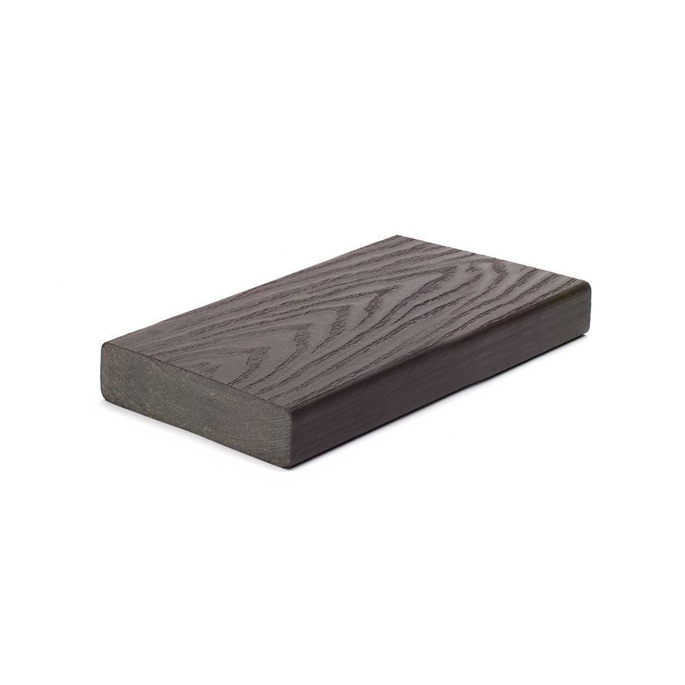 Trex 16 Ft. - Select 2x6 Composite Capped Square Decking - Woodland Brown