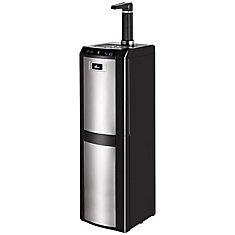 Bottom Load Water Dispenser (H/R/C) Black & Stainless Steel