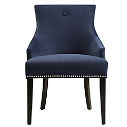 Pulaski Button Back Dining Chair in Bella Navy