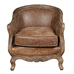Pulaski Sloane Wood Frame Arm Chair
