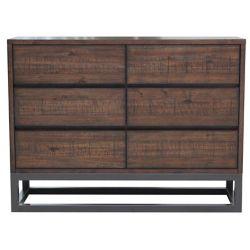 Pulaski Modern Industrial Drawer Dresser