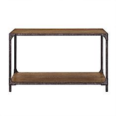 Irwin Wood Metal Sofa Table
