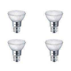 Philips 50W Equivalent Bright White Glass PAR20 LED Light Bulb ENERGY STAR® (4-Pack)